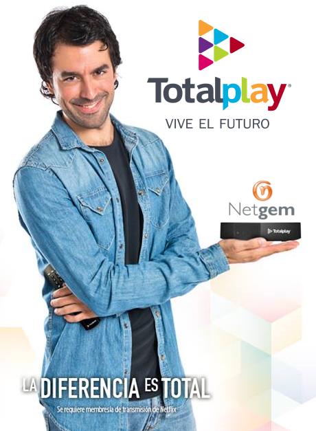 Totalplay Netgem 2016