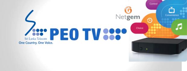 Sri Lanka Telecom SLT - PeoTV by Netgem IPTV 2016