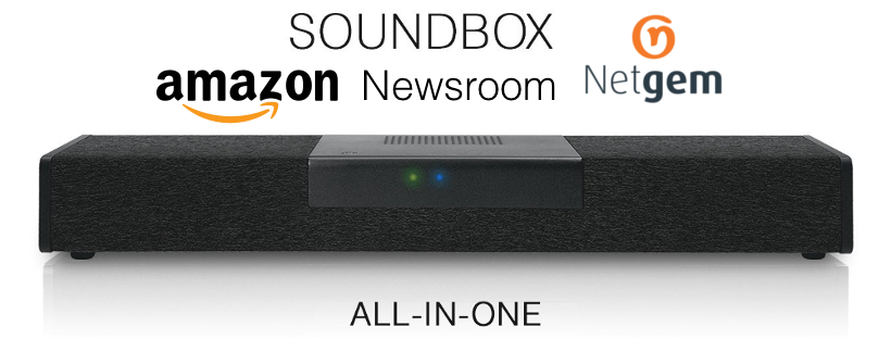 RAPPEL : #Alexa skills / voice service @Amazon : @Netgem #Soundbox #4K arrive en France !