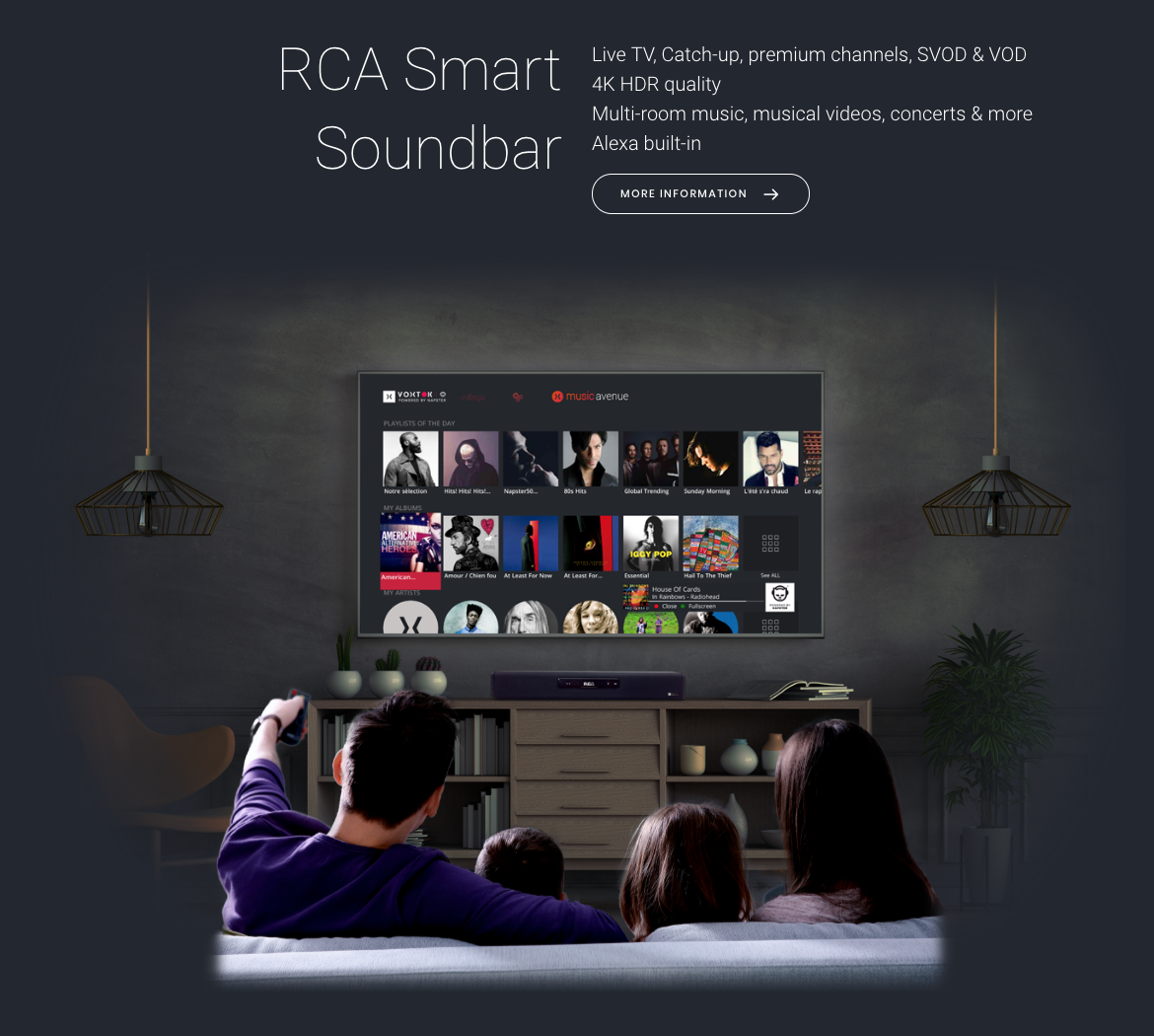 Smart Soundbar RCA - Music Avenue - Europe - Voxtok Napster Netgem.png