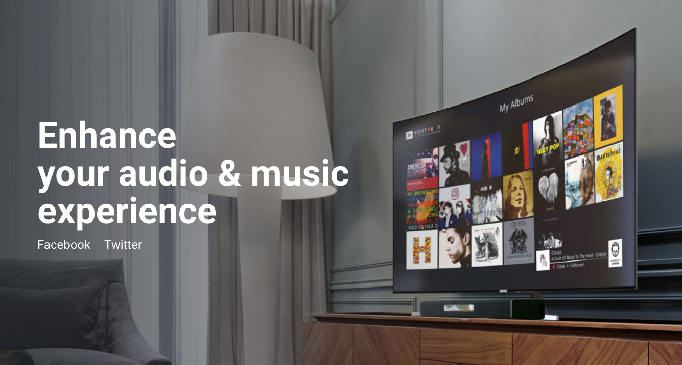 #MusicAvenue by @Voxtok @Netgem disponible dans l'offre #AndroidTV @Technicolor #Telecom #TV