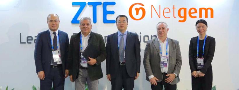 ZTE et Netgem signent un partenariat stratégique sur le marché de la fibre en Europe