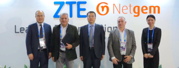 Partenariat strategique Fibre Europe - ZTE Corporation et Groupe Netgem